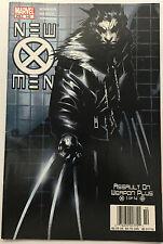 New X-Men #142 (Aug 2003, Marvel) Wolverine Assault -- 9.4 NM Near Mint NM comic