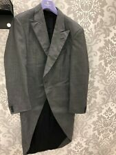 Mens Grey Morning Jacket with Tails 36R Exhire