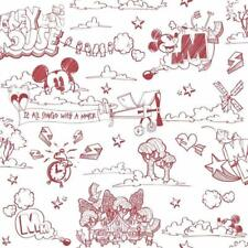 Official Disney Mickey Mouse Pattern Pencil Cartoon Childrens Wallpaper MK3014-3