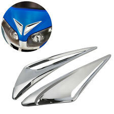 L&R Windshield Garnish Vent Accents For Honda Goldwing GL 1800 Airbag 2012-2017