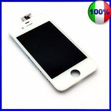 TOUCH SCREEN VETRO SCHERMO + LCD Display Assemblato PER iPhone 4S - BIANCO