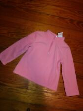 NWT Gymboree Toddler Girls Fleece Pullover Size 4T Solid Coral