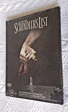 SCHINDLER'S LIST (DVD, 2-DISC SET) REGION :2+4, NEW AND SEALED, FREE SHIPPING