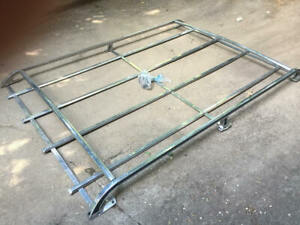 Nice Vintage VOLVO 240 OEM Chrome Roof Rack Taken from a 1976 Volvo 240 wagon.