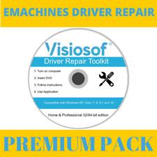 EMACHINES Drivers Software Repair Restore CD DVD Windows 10 8.1 8 7 Vista XP