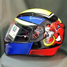 CASQUE INTÉGRAL AGV K3 K-3 SV MULTI ANGRY BULL - TAILLE L + PINLOCK