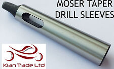 4 - 5 morse taper Drill sleeve adaptor fully hardened and ground 165 mm Long