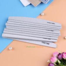 10pcs Nail Art Sanding Files Polish Acrylic Block Buffer Manicure Tips Tools New