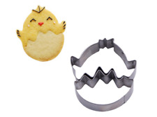 Easter Egg Chick Cookie Cutter Animal Metal Cake Pastry Biscuit Sugarcraft Set