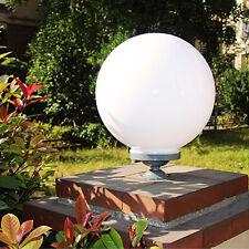 Acrylic Pillar Light LED Globe Yard Outdoor Garden Waterproof Path Lamp Post