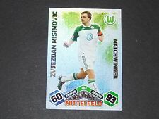 MISIMOVIC VFL WOLFSBURG TOPPS MATCH ATTAX PANINI FOOTBALL BUNDESLIGA 2010-2011