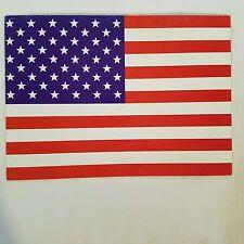 Political Greeting Card American Flag God Bless America