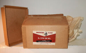 American Flyer Super Clean 23796 Saw Mill Original Box,, Paper And Insert Only