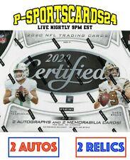 2020 PANINI CERTIFIED FOOTBALL CARDS NFL LIVE HOBBY BOX LIVE BREAK #3802  1 TEAM