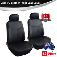 PU Leather Seat Covers Waterproof Car Interiors Front Cushion Pad Universal
