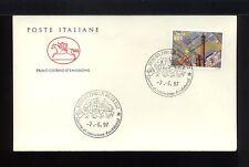 1997 ITALIA FDC CAVALLINO 7.6.1997 BOLOGNA FIERE