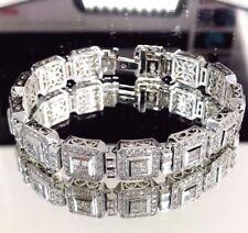 Very Good Cut White Gold VS2 Fine Diamond Bracelets