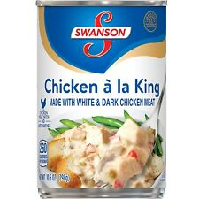 Swanson Chicken á la King Made with White and Dark Meat Chicken, 10.5 Ounce Can