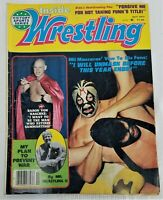 Inside Wrestling Magazine April 1977 Used Baron Von Raschke #197 WWF WCW WWE