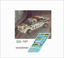 DECALS FIAT 131 ABARTH TOTIP MANDELLI RALLY LANA 1982