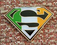 SUPER IRELAND / SUPERMAN Lapel Pin