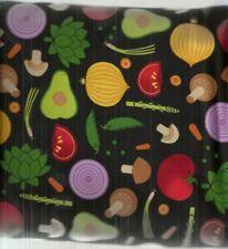 Metro Market tossed veggies Kaufman fabric