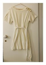 Womens Designer 3.1 Phillip Lim Cream And Gold Dress Size Small (8-10 AUS)