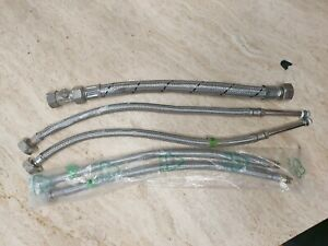 Flexible Tap Hose Connector Kitchen Basin Mixer pipe tails  2 new 3 used one