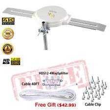 LAVA HD-8008 Amplified Indoor/Outdoor OmniPro Antenna Digital HDTV UHF/VHF/FM