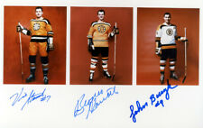1 8 x 10 Glossy Photo of The UKE Line  Boston Bruins - Autographed