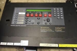 SIMPLEX 4100-9111 FIRE ALARM PANEL MASTER CONTROLLER 2x40 Main Display 637-250