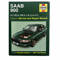 Haynes 3512 Oct 1993 to 1998 Saab 900 L to R registration Service Repair Manual