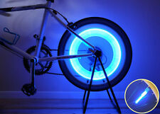 New Super Bright ATOZI Bike Cycle Bicycle Tire Wheel Spoke Valve LED Light Blue