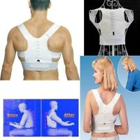 Shaper de corps Support de posture magnetique reglable Correcteur de dos Do H8V8