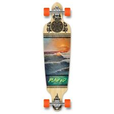 Yocaher Drop Through Longboard Complete - Wave Scene
