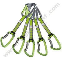 """Express-Set,  """"Lime"""" -grün- 5er-Set von Climbing Technology"""