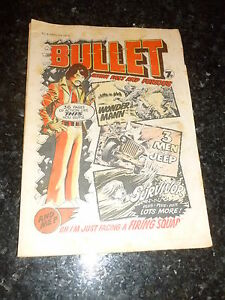 BULLET Comic - Issue 8 - Date 03/04/1976 - UK Paper Comic