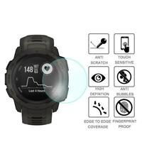 1PC 3D 9H Slim Film Tempered Glass Screen Protector Watch For Garmin M7Y2