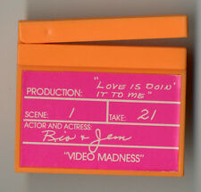 Hasbro Jem Love is Doin It To Me Video Madness Unproduced Clapboard Prototype