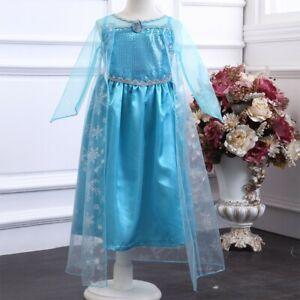 Disfraz Elsa de Frozen NUEVO - Talla 4 años - Envío rápido desde España