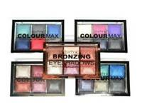 Baked Eyeshadow Metallic Eyes Palette Technic Colour Max - All Colour & Bronze