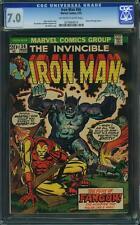 Iron Man #56 (Mar 73) CGC 7.0 Cameo by Doctor Strange!