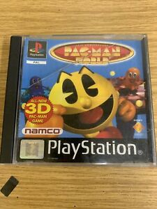 PAC MAN WORLD - PS 1 - PAL Sony Playstation with Manual SCES-00934
