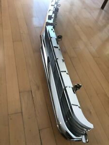 NICE 1962 Cadillac GRILLE  SET exceptional condition bright anodizing and chrome