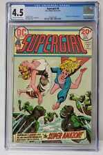 Supergirl Issue# 9 DC Comics 1973 CGC Graded 4.5 Comic Book