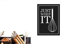 Just Whip It Vinilo Pegatinas De Pared Adhesivo Decoración