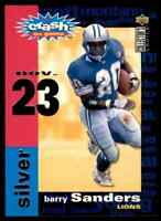 1995 UD COLLECTOR'S CHOICE YOU CRASH THE GAME SILVER BARRY SANDERS DETROIT LIONS