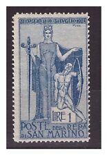 SAN MARINO 1924 -   GARIBALDI  1  LIRA     NUOVO  *