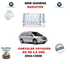 Para Chrysler Voyager RG RS 2.8 CRD 2004 - > 2008 Nuevo Radiador OE Quality