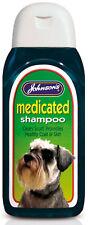 Johnsons Dog Medicated Shampoo 125ml Gentle Anti Dandruff Antibacterial Healthy
